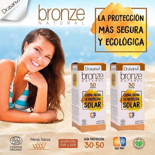 Bronze Natural Crema Facial Solar Drasanvi SPF50