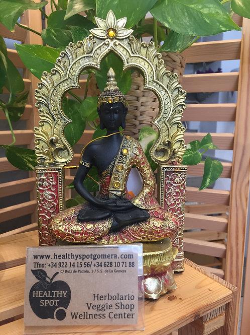 Figura de Buda 26x15.5x7cm. de resina