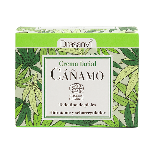 Crema facial de Cañamo BIO · Drasanvi · 50 ml