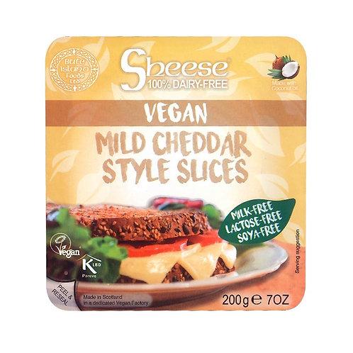 Cheddar Semi Curado Vegano Sheese en Lonchas