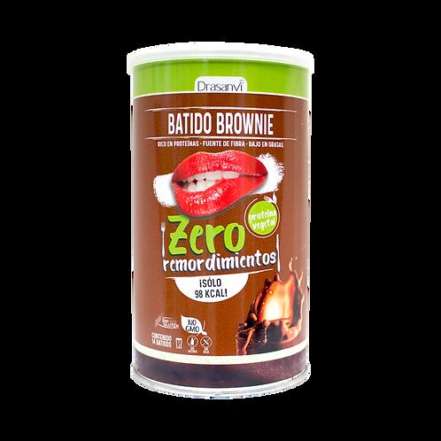 Batido Vegetal Proteico Brownie 420 g Zero Remordimientos