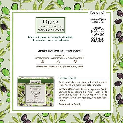 Crema facial de Aceite de Oliva BIO 50 ml
