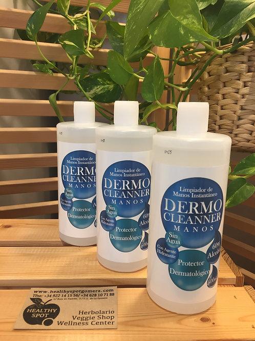 Limpiador de Manos Instantáneo Dermo Cleanner 500ml.