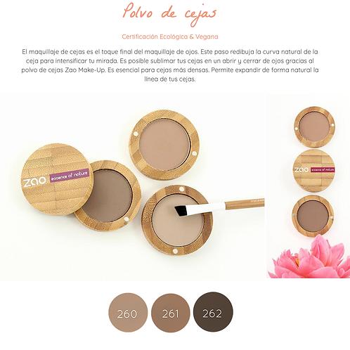 Sobras/Polvos de Cejas Zao Makeup