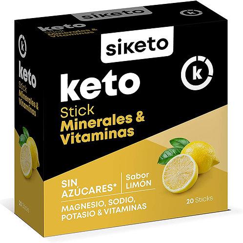 Siketo Stick de Minerales y Vitaminas