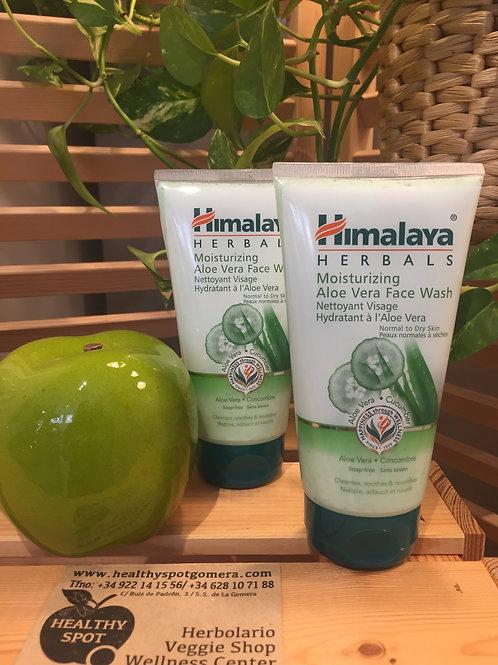 Limpiador Facial de Aloe Vera Himalaya Herbals 150ml.