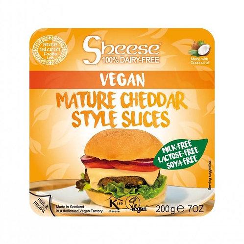 Sheese Queso Vegano - Lonchas estilo Cheddar Curado