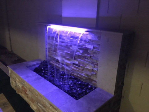 Modern Waterfeature Lighting