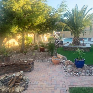 Intricate Backyard