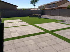 Modern Designs with Concrete and Turf