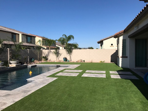 Travertine and Turf