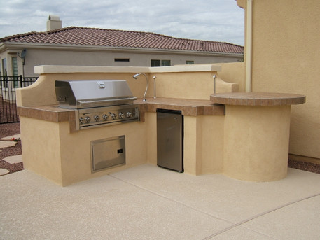 BBQ Back Splash
