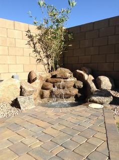 Boulder Waterfeature