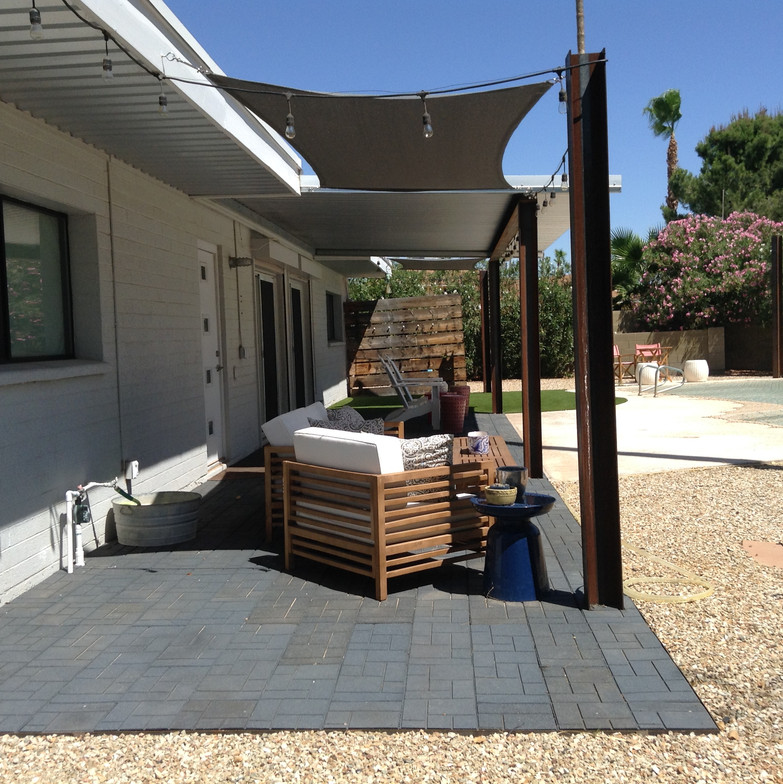 Special Order Rubber Patio Deck