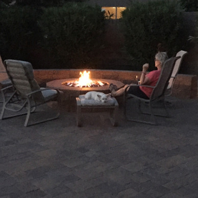 Outdoor Living with Firepit