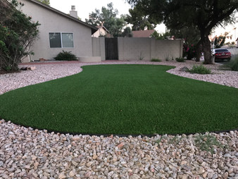 Turf with Gravel