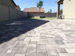 Extended Driveway Pavers