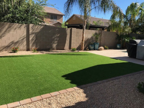 Backyard Turf Areas