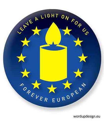 Leave a Light on for us Badge