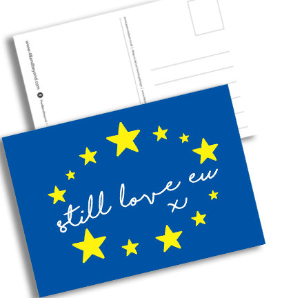 Pro EU 'Still Love EU' Postcards (Pack A6)