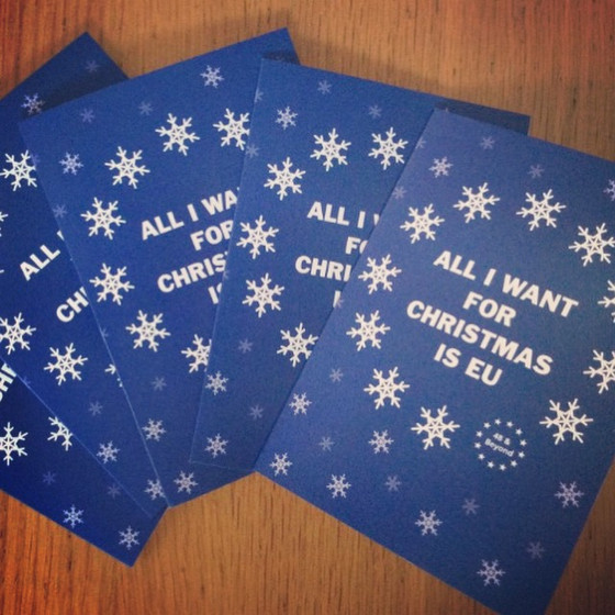 25% off Pro EU Christmas Cards