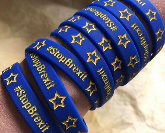 #StopBrexit wristbands are here