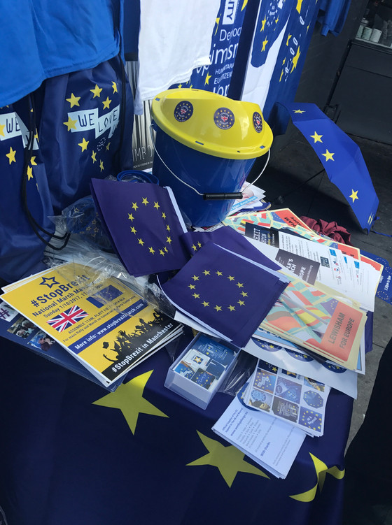 Pro EU Street Stalls & Action Days