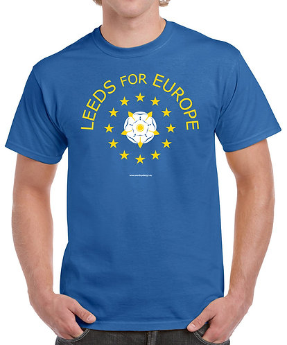 Pro EU Leeds For Europe T-Shirt Mens