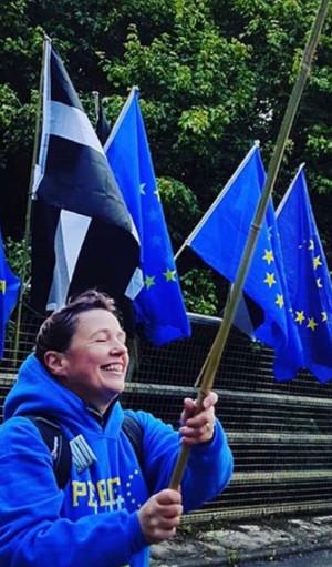 Keep flying the flag!
