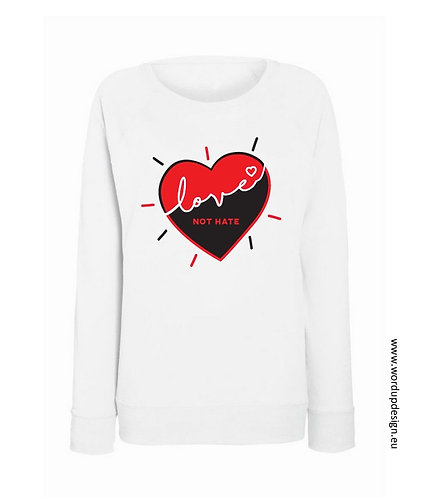 Love not hate sweater