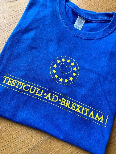 Latin Bollocks to Brexit T-Shirt Unisex Cotton
