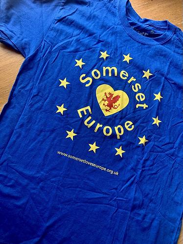 Somerset for Europe T-Shitt
