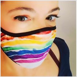 #facemask #rainbow