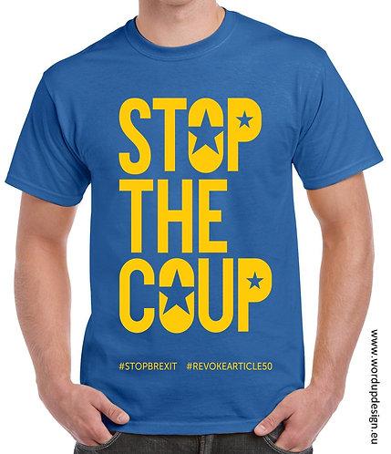 Stop The Coup Unisex Cotton T-shirt