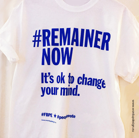 #RemainerNow Bold Campaign Wear