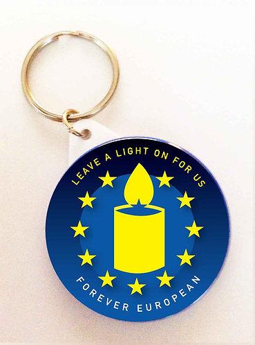 Leave a Light on for us Keyring