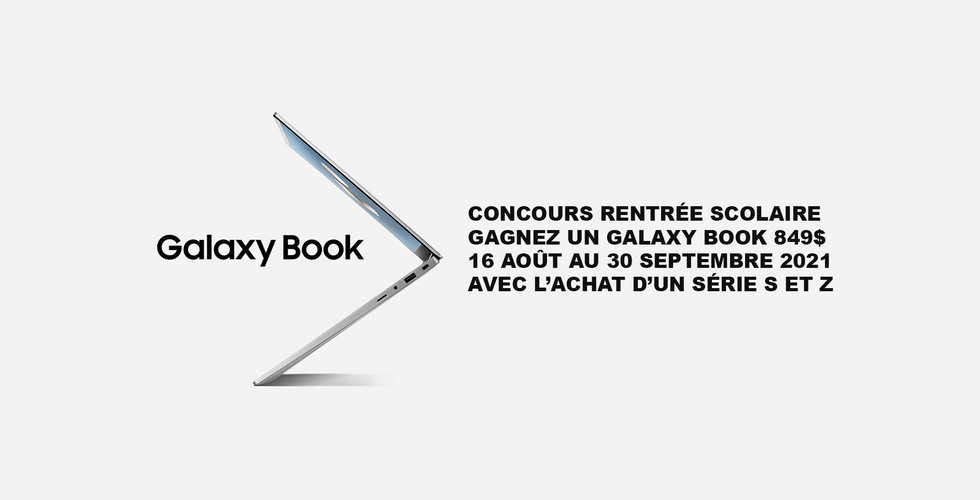CONCOURS GALAXY BOOK