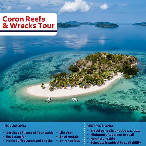 Coron Reefs & Wrecks Tour