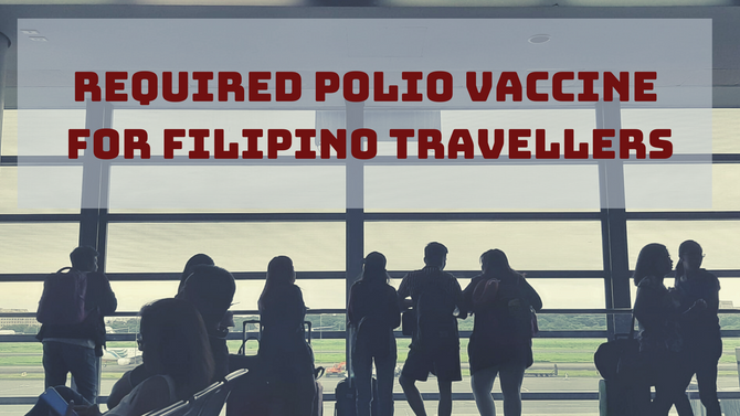 What do we know about Polio Vaccinations for Filipino Travellers