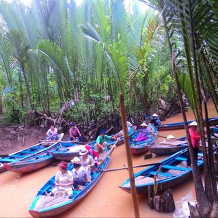Saigon: Floating Around the Mekong River