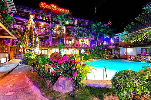 Red Coconut Beach Hotel (1 Night)