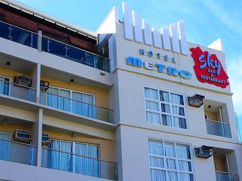 Hotel Metro Sky Bar & Restaurant (1 Night)