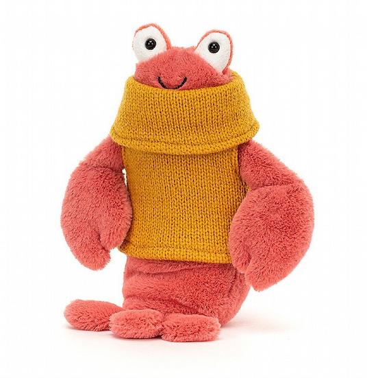 Jellycat Cozy Crew Lobster