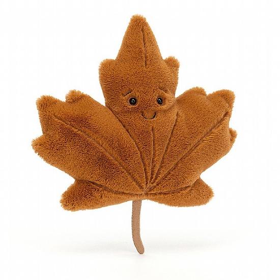 Jellycat Woodland Maple Leaf Little