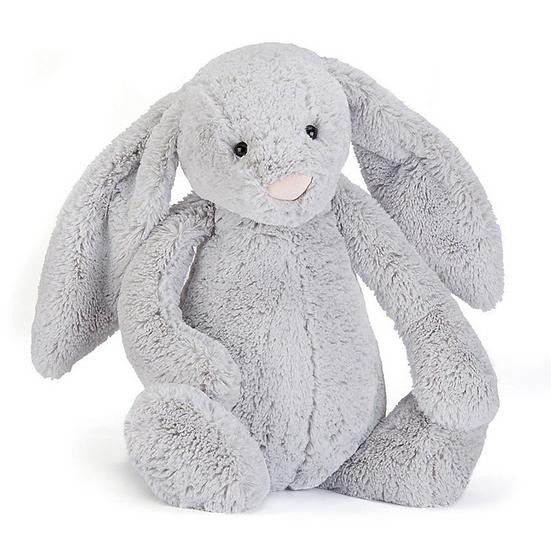 Jellycat Bashful Silver Bunny Really Big