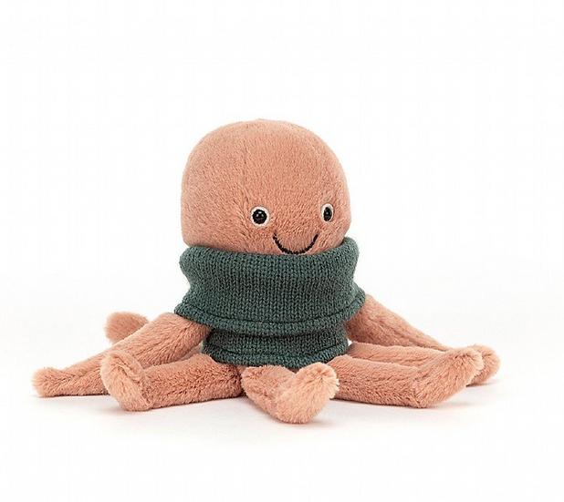 Jellycat Cozy Crew Octopus