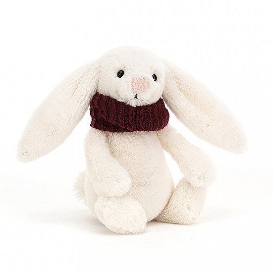 Jellycat Bashful Snug Bunny Berry