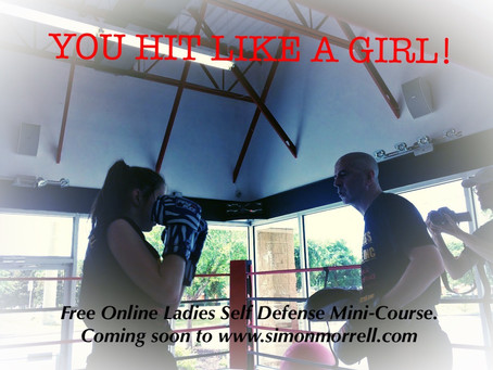 YOU HIT LIKE A GIRL! FREE LADIES SELF DEFENCE COURSE NOW LIVE!