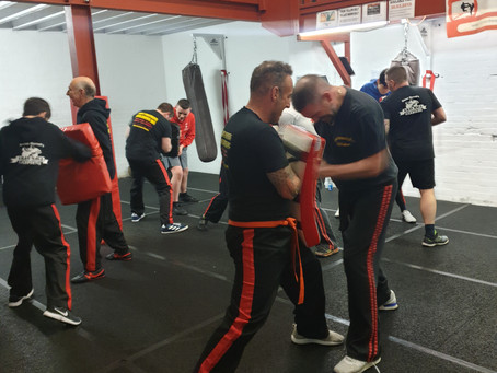 Travelling to Fight Fortress for today's Krav Instructor Course.