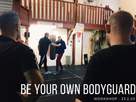 Be Your Own Bodyguard Seminar